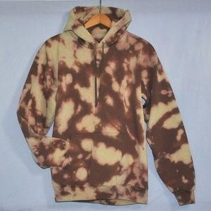 Tie Dye Hoodie Sweatshirt Adult Size Small Hanes